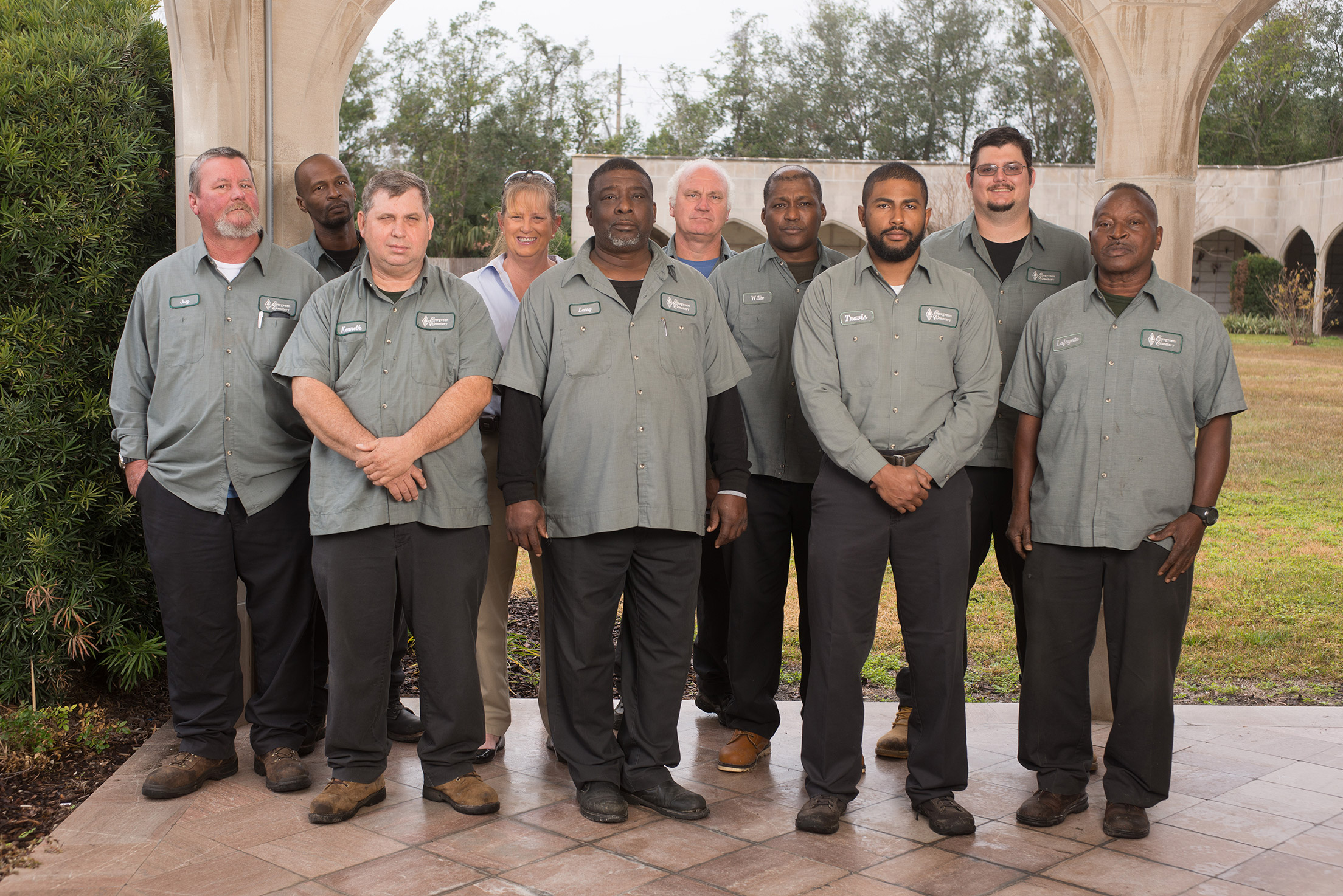 Evergreen Service and Maintenance Team